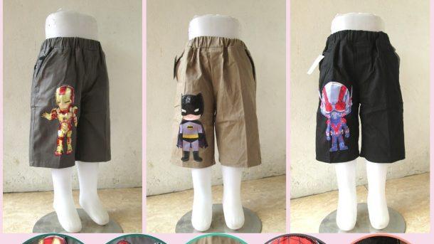 Pusat Grosir Cimahi Supplier Celana Chinos Pendek LED Karakter Anak Bisa Menyala Murah Hanya 36RIBUAN