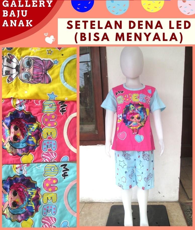 Pusat Grosir Cimahi Sentra Grosir Setelan Dena LED Anak Perempuan Bisa Menyala Murah di Bandung Mulai 30RIBUAN