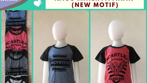 Pusat Grosir Cimahi Distributor Kaos Minerva Anak Laki Laki Termurah di Cimahi Hanya 16RIBUAN