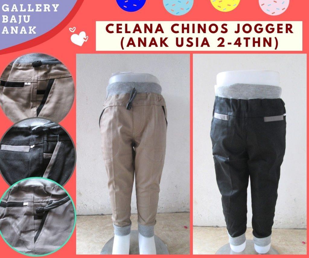 Pusat Grosir Cimahi Konveksi Celana Chino Jogger Anak Laki Laki Murah di Bandung 30RIBUAN
