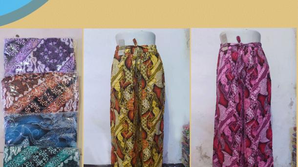 PUSAT GROSIR PAKAIAN MURAH CIMAHI BANDUNG Distributor Celana Kulot Motif di Bandung Rp 35,000