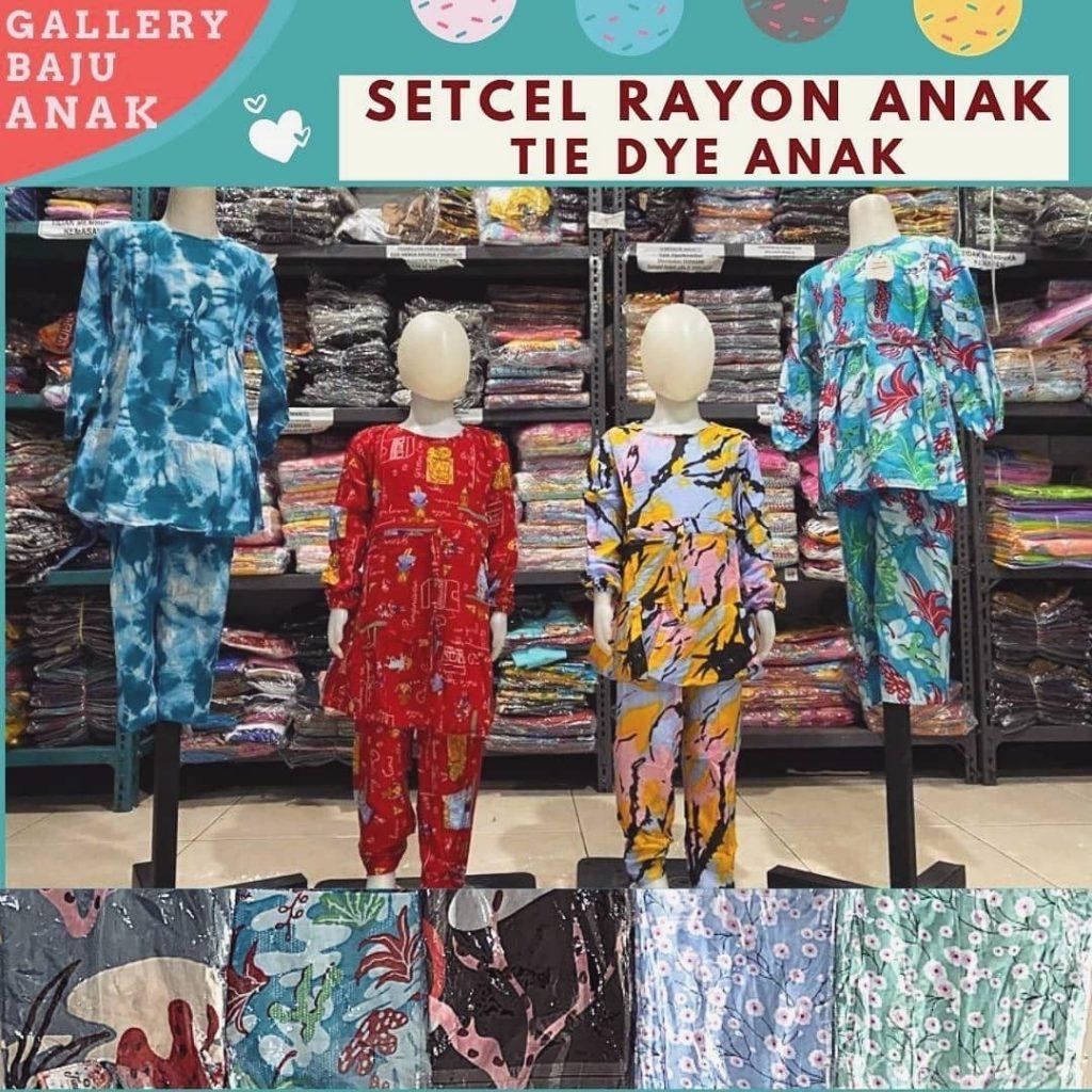 Pusat Grosir Cimahi Pabrik Setcel Rayon Anak di Bandung Rp 47000