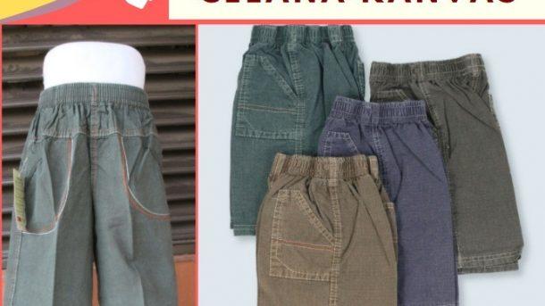 PUSAT GROSIR PAKAIAN MURAH CIMAHI BANDUNG Konveksi Celana Kanvas Anak di Bandung Murah