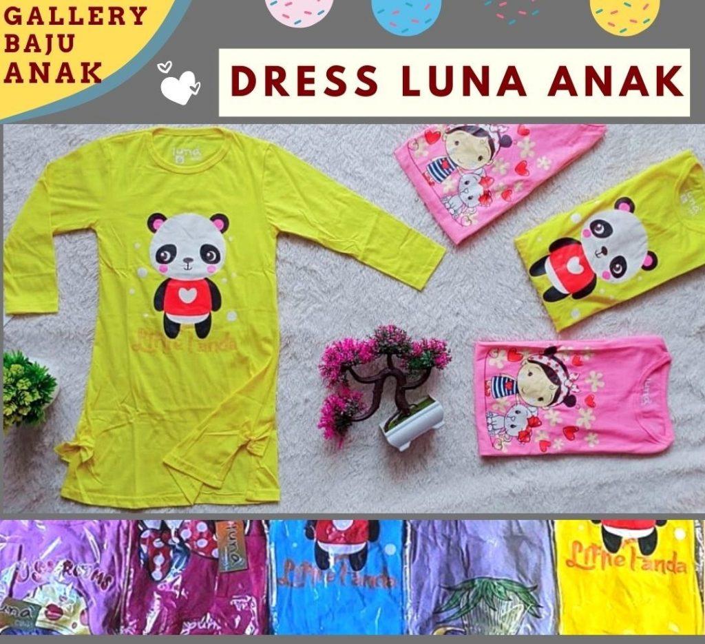 PUSAT GROSIR PAKAIAN MURAH CIMAHI BANDUNG Pabrik Dress Luna Anak di Bandung Rp 26000