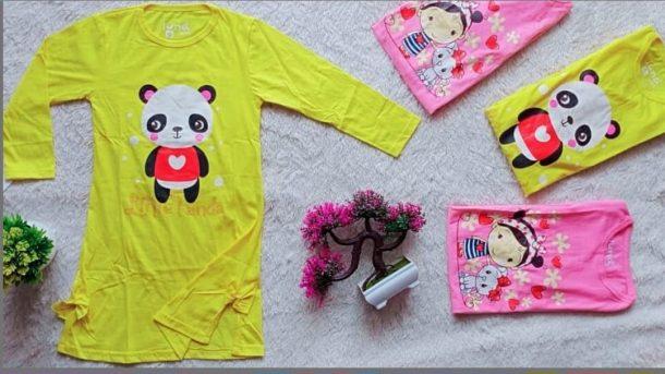 Pusat Grosir Cimahi Pabrik Dress Luna Anak di Bandung Rp 26000