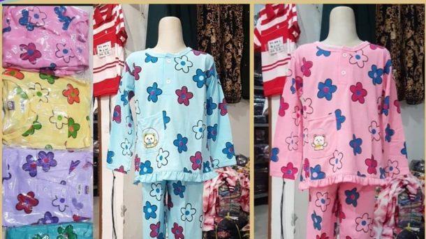 PUSAT GROSIR PAKAIAN MURAH CIMAHI BANDUNG Distributor Babydoll Cotton Anak Tangan Panjang di Bandung 24,000