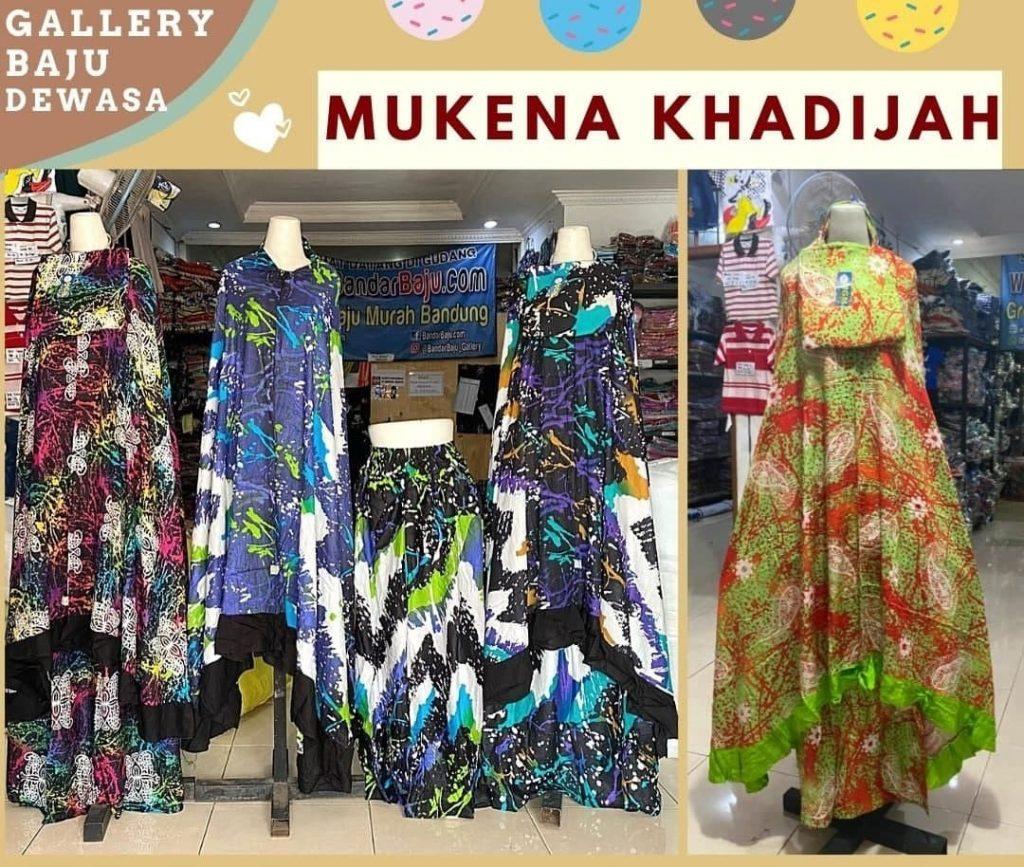Pusat Grosir Cimahi Pabrik Mukena Khadijah Dewasa di Bandung 72,000