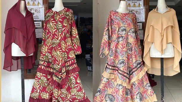 PUSAT GROSIR PAKAIAN MURAH CIMAHI BANDUNG Produsen Gamis Syar'i Dewasa di Bandung Rp 105,000