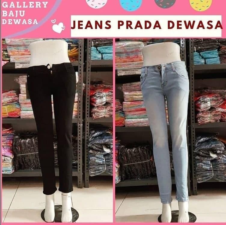 PUSAT GROSIR PAKAIAN MURAH CIMAHI BANDUNG Distributor Jeans Prada Dewasa di Bandung Rp 56000