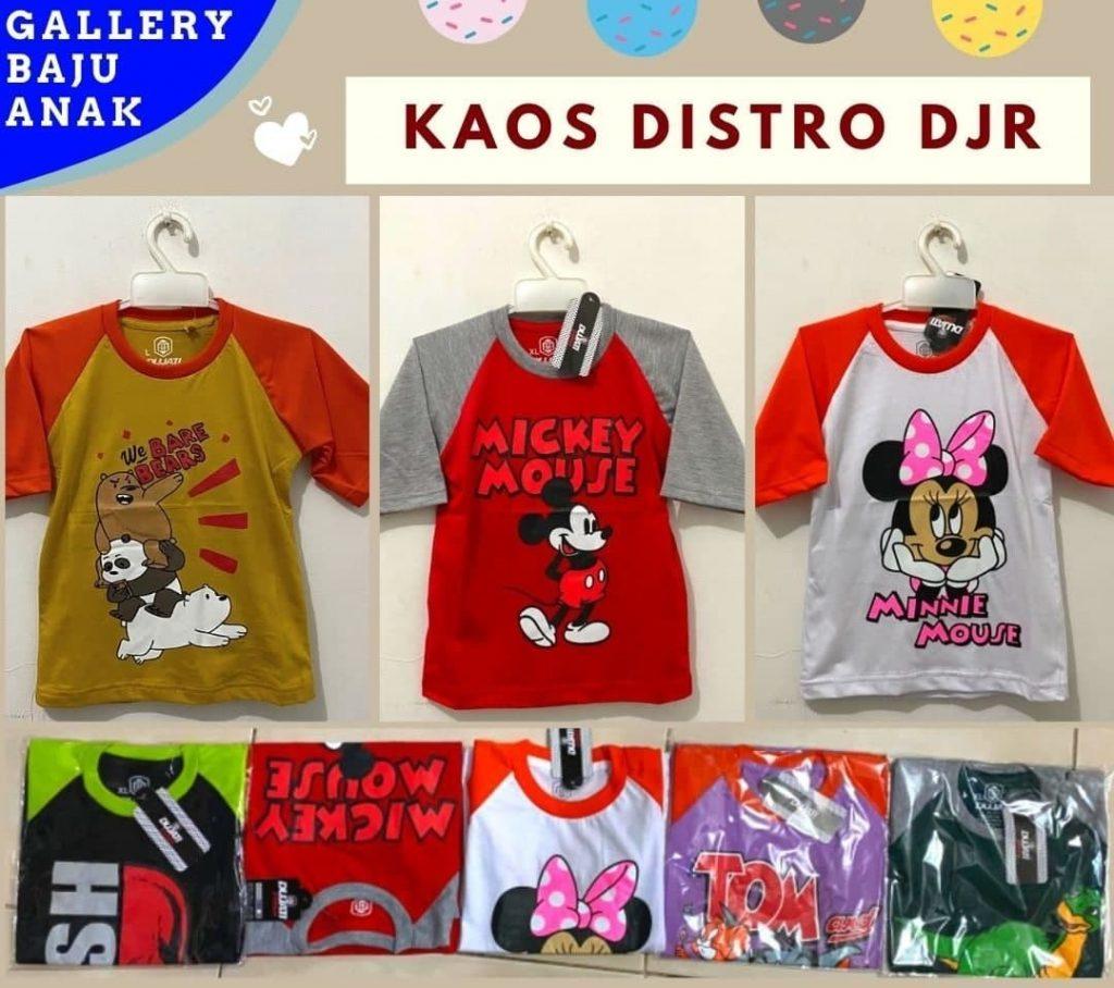PUSAT GROSIR PAKAIAN MURAH CIMAHI BANDUNG Pabrik Kaos Distro Anak di Bandung Rp 15500