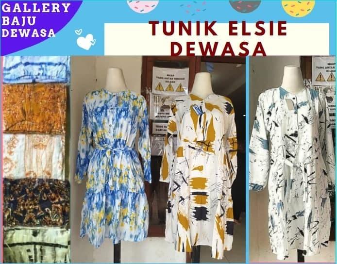PUSAT GROSIR PAKAIAN MURAH CIMAHI BANDUNG Distributor Tunik Elsie Dewasa Murah di Bandung 38,000