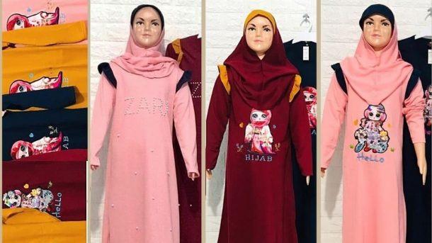 PUSAT GROSIR PAKAIAN MURAH CIMAHI BANDUNG Pabrik Gamis Zahira Anak Murah di Bandung