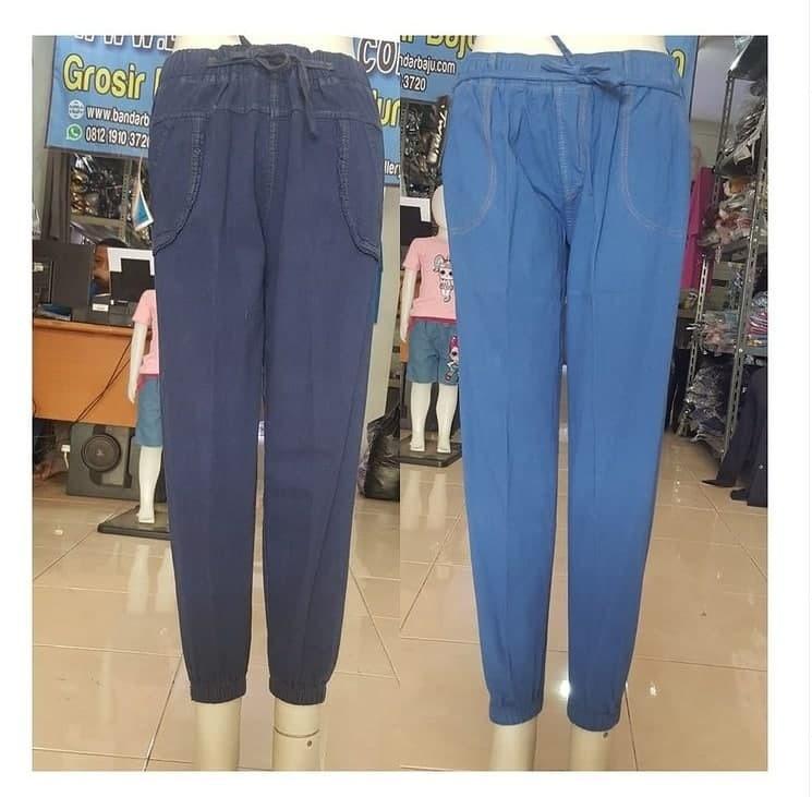 Pusat Grosir Cimahi Grosir Jogger Jeans dewasa di Bandung Rp 40000
