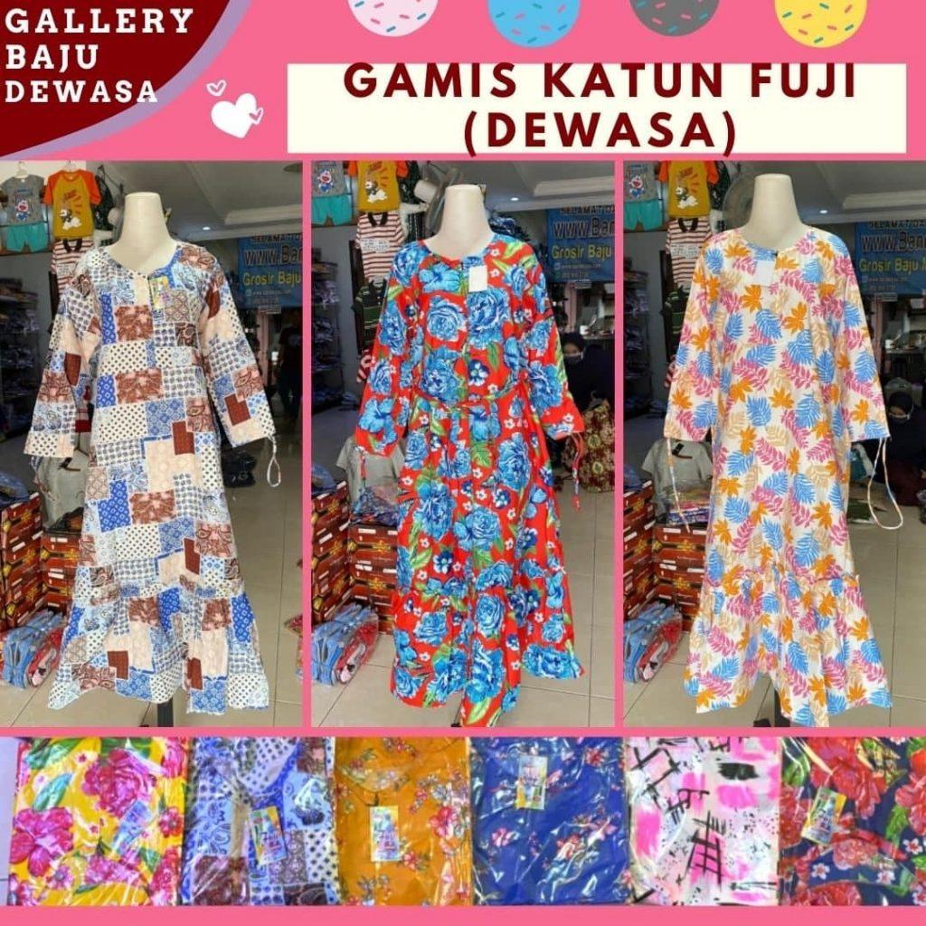 PUSAT GROSIR PAKAIAN MURAH CIMAHI BANDUNG Produsen Gamis Katun Dewasa di Bandung Rp 32000