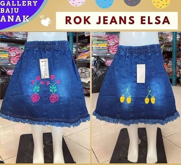 PUSAT GROSIR PAKAIAN MURAH CIMAHI BANDUNG Produsen Rok Jeans Anak di Bandung Rp 25000