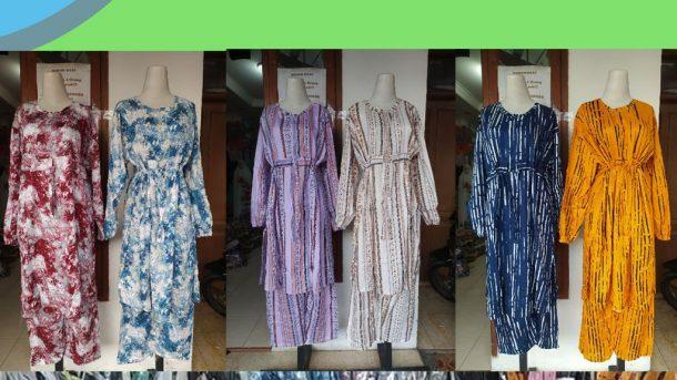 PUSAT GROSIR PAKAIAN MURAH CIMAHI BANDUNG Produsen Setelan Tunik Rayon di Bandung Rp 70000