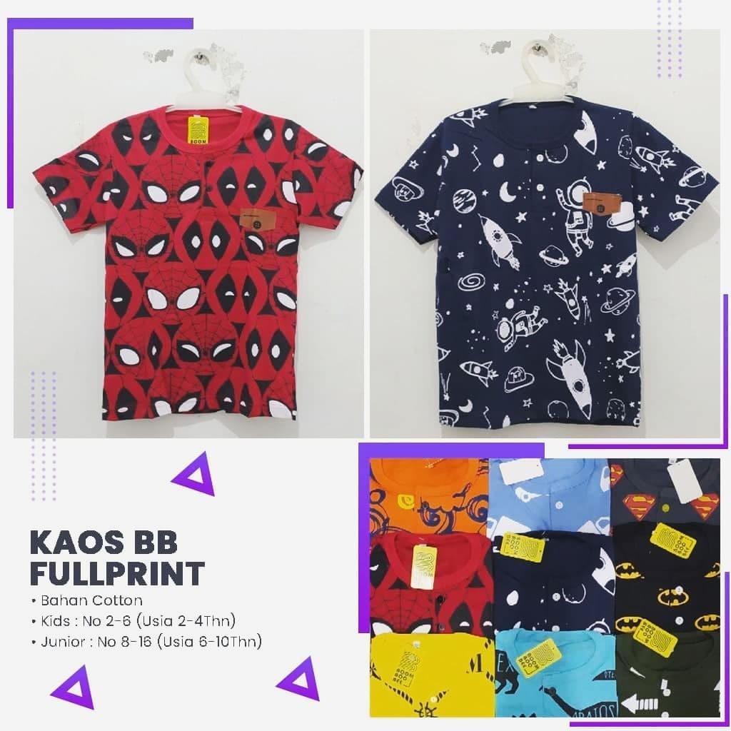 PUSAT GROSIR PAKAIAN MURAH CIMAHI BANDUNG Distributor Kaos BB Fulprint Termurah Rp 23.000